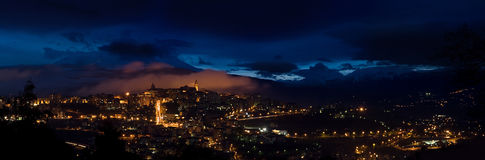 Chieti by night Stock Photography