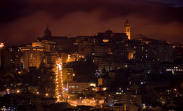 Chieti by night Royalty Free Stock Image