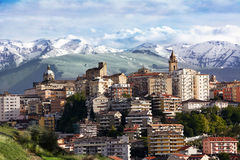 Chieti, one of the capitals of Abruzzo and Maiella Stock Image