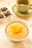 Chiffon cake Stock Image