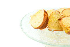 Chiffon Cake VI Royalty Free Stock Images