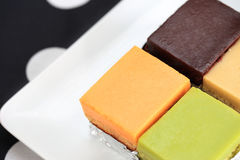 Chiffon Cakes Stock Image
