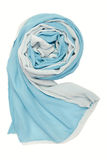 Chiffon double-sided scarf Royalty Free Stock Photo