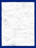 Chiffonnez le papier image stock