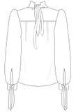 Chiffonoverhemd Royalty-vrije Stock Foto's