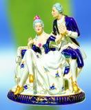 Chiffre antique de porcelaine images stock