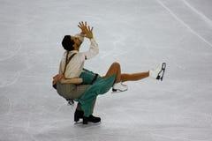 Chiffre championnats 2010 du monde d'ISU de patinage Images stock