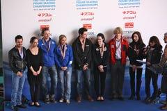 Chiffre championnats 2010 du monde d'ISU de patinage Photographie stock libre de droits