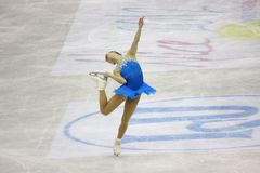 Chiffre championnats du monde d'ISU de patinage images libres de droits