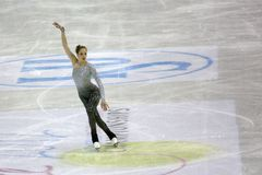 Chiffre championnats du monde d'ISU de patinage Photos stock