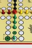 Chiffre chance de jeu de jeu de boardgame fâchée photos stock