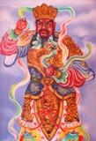 Chiffre chinois de temple Images libres de droits