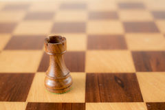 Chiffre d'échecs - freux noir Images libres de droits