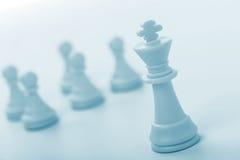 Chiffre d'échecs - roi Photo libre de droits