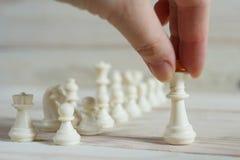 Chiffre d'échecs, stratégie de concept d'affaires Image libre de droits