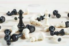 Chiffre d'échecs, stratégie de concept d'affaires Image stock