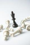Chiffre d'échecs, stratégie de concept d'affaires, direction, équipe Photo stock