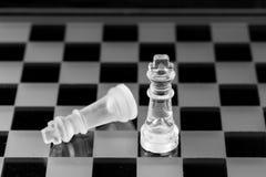 Chiffre d'échecs, stratégie de concept d'affaires, direction, équipe et le su Photos libres de droits