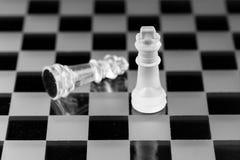 Chiffre d'échecs, stratégie de concept d'affaires, direction, équipe et le su Photo libre de droits