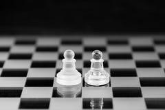 Chiffre d'échecs, stratégie de concept d'affaires, direction, équipe et le su Image stock