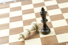 Chiffre d'échecs, stratégie de concept d'affaires, direction, équipe et le su Photographie stock