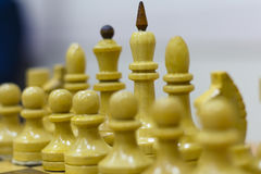 Chiffre d'échecs, stratégie de concept d'affaires, direction, équipe et succès Images stock