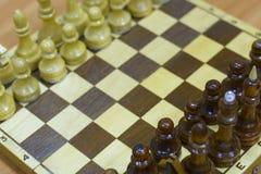 Chiffre d'échecs, stratégie de concept d'affaires, direction, équipe et succès Photos libres de droits