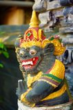 Chiffre d'esprit au temple de Balinese Photos libres de droits