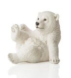 Chiffre d'ours blanc Photo stock