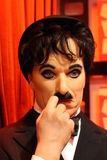 Chiffre de cire de Charlie Chaplin Photographie stock