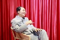 Chiffre de cire de mao de Président images libres de droits