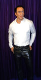 Chiffre de cire de Nicolas Cage Images stock