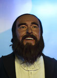 Chiffre de cire de Pavarotti Image libre de droits