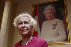 Chiffre de cire de reine Elizabeth II Images stock