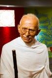 Chiffre de cire du Mahatma Gandhi célèbre Photographie stock