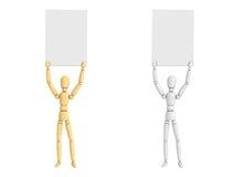 Chiffre de configuration affiche de fixation de poupée illustration libre de droits