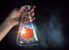 Chiffre de cube comme concept d'innovation Media mélangé Media mélangé Photographie stock libre de droits