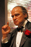 Chiffre de figure de cire de Marlon Brando Images libres de droits