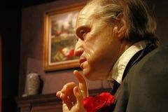 Chiffre de figure de cire de Marlon Brando Image libre de droits