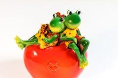 Chiffre de grenouille Chiffre décoratif d'une grenouille image libre de droits