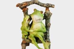 Chiffre de grenouille Chiffre décoratif d'une grenouille photo libre de droits