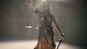 Chiffre de justice de Madame clips vidéos