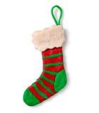 Chiffre de pâte à modeler de chaussette de Noël Image stock