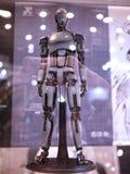 Chiffre de robot dans l'ÂME 2015 de JOUET en Hong Kong images stock