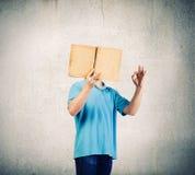 chiffre dimensionnel homme trois du beau livre 3d d'illustration très Image stock