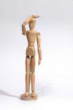Chiffre en bois recherche de concepts Image stock