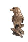 Chiffre en bronze d'un aigle image libre de droits