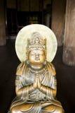 Chiffre en bronze de Bouddha Image stock