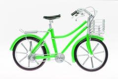 Chiffre fait main vert de bicyclette Image stock