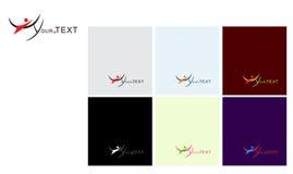 Chiffre logo de mouche Image libre de droits